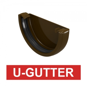 [U-Gutter] 옆마개 Gutter stopend (1box 20ea)